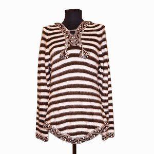 Peruvian Alpaca Wool Sweater Sz M